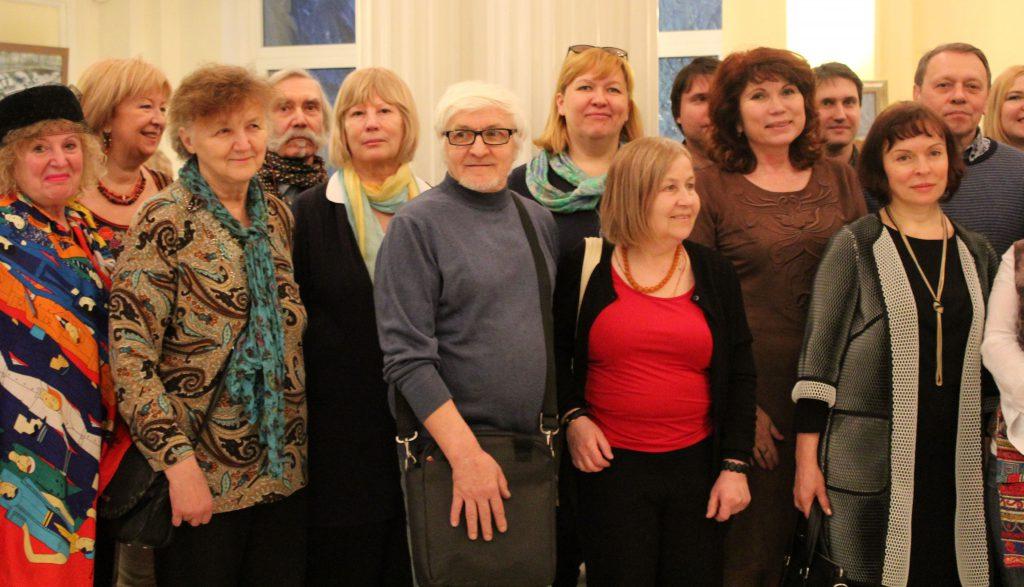 выставка на Арбате в Украинском Доме